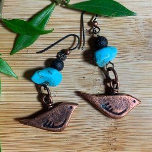 Sleeping Beauty Turquoise/copper dove,Lava
